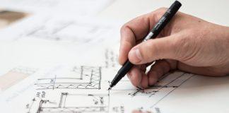 projekt-domu-pero-vykres-papier-rruka-fixka-cisla