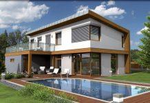 moderna-architektura-dom-bazen-terasa-drevo-zahrada-eko